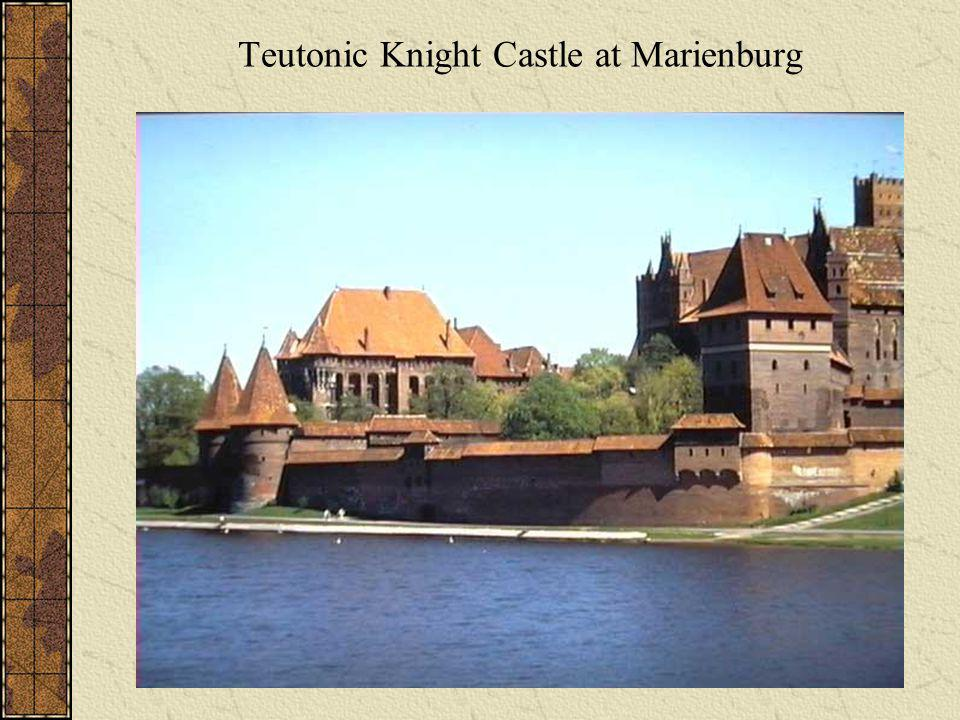 Teutonic Knight Castle at Marienburg