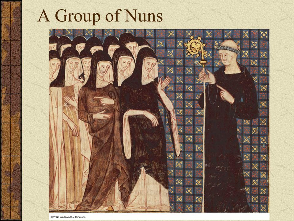 A Group of Nuns