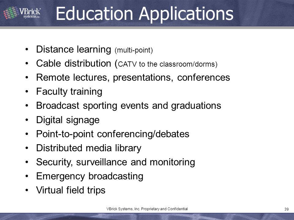 Education Applications
