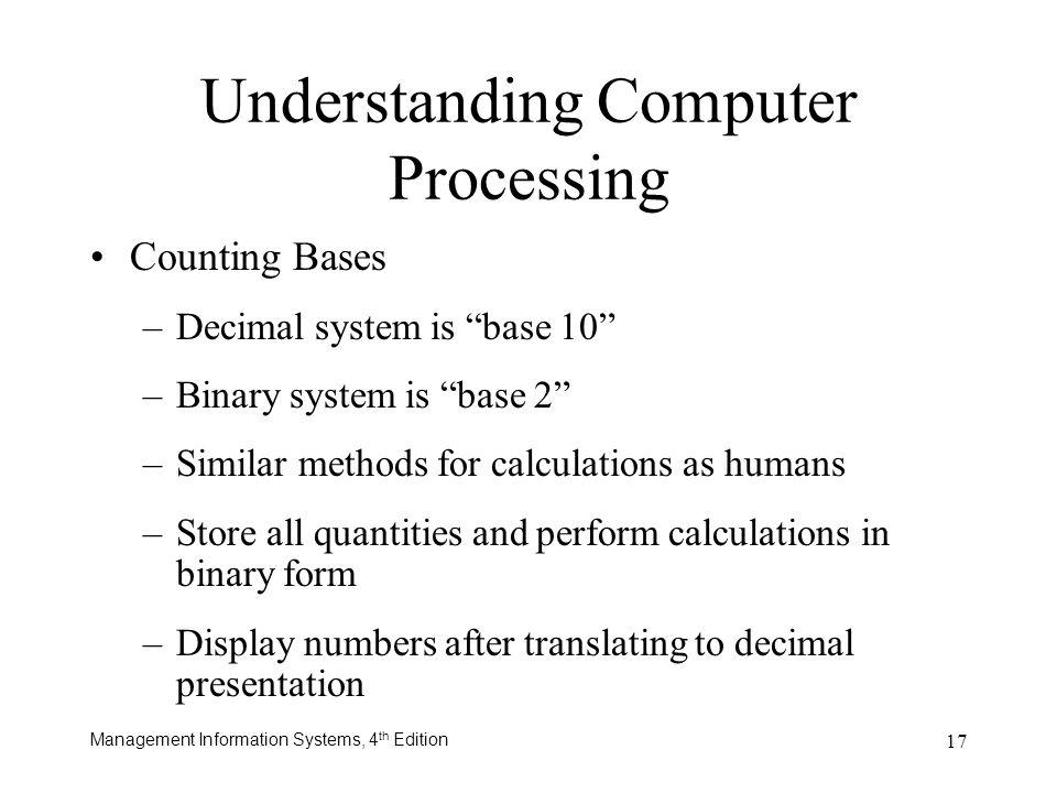 Understanding Computer Processing
