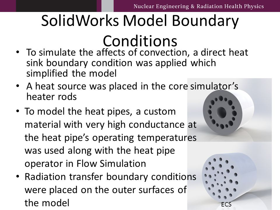 SolidWorks Model Boundary Conditions