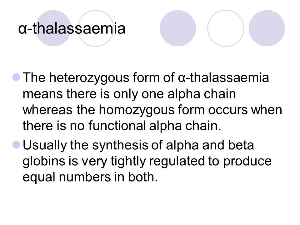 α-thalassaemia