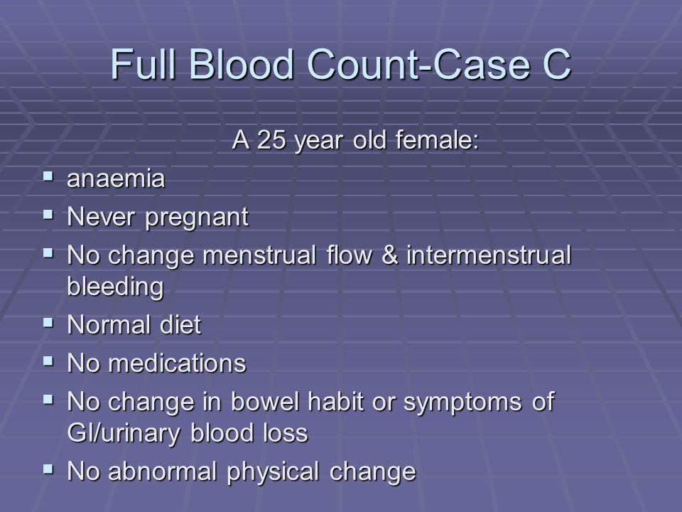 Full Blood Count-Case C
