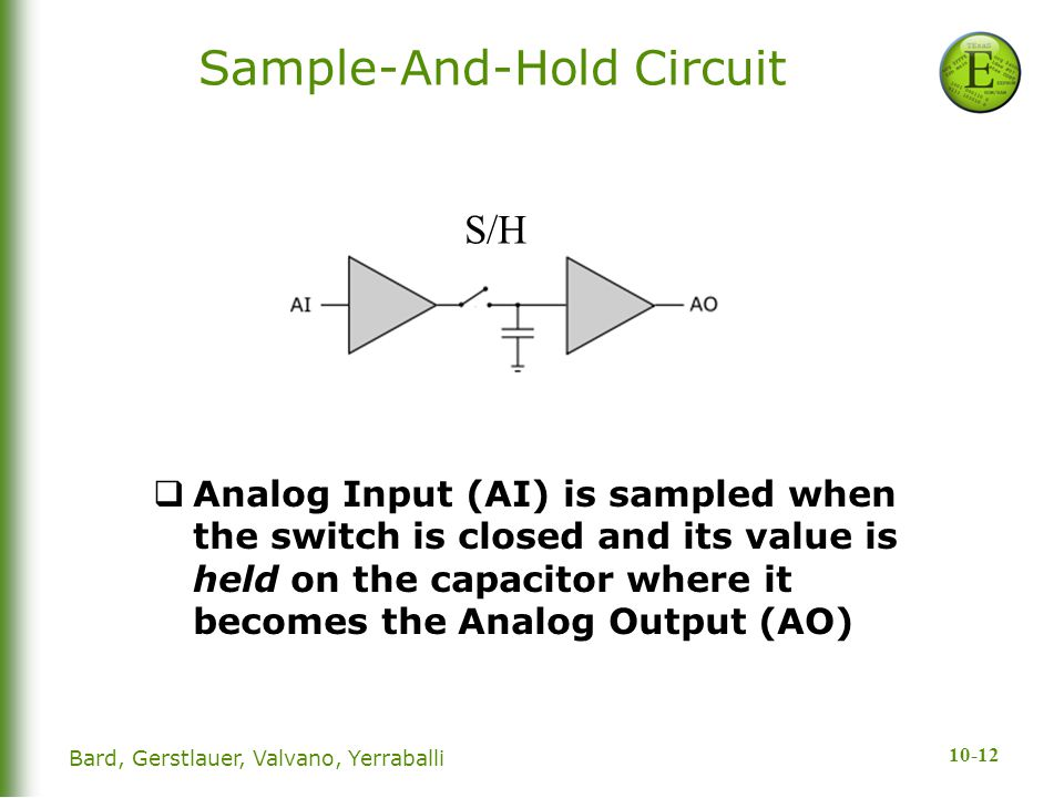 Sample-And-Hold Circuit