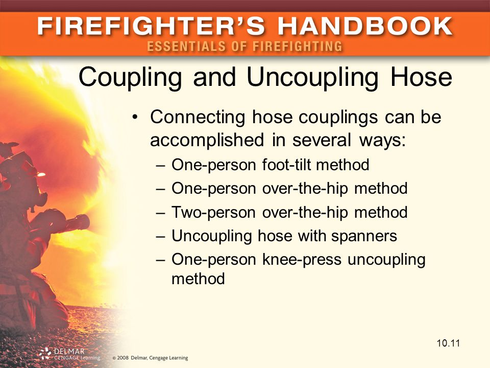 Coupling and Uncoupling Hose