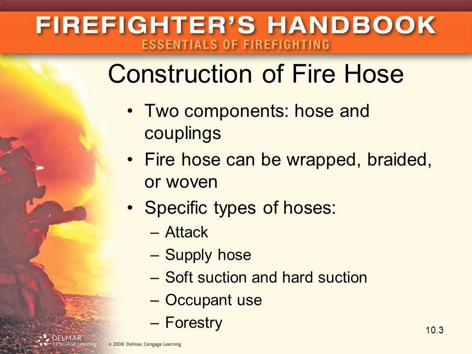 Construction of Fire Hose