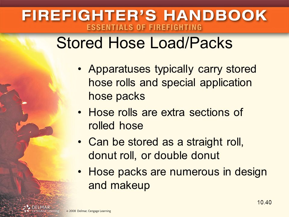 Stored Hose Load/Packs