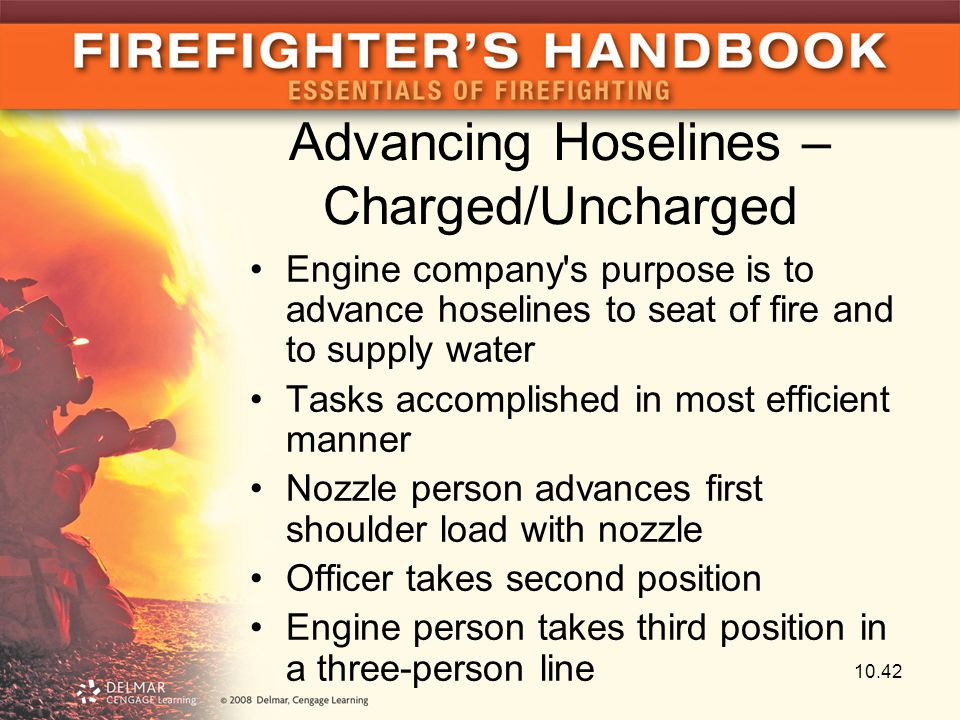 Advancing Hoselines – Charged/Uncharged