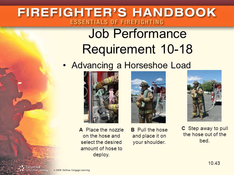 Job Performance Requirement 10-18