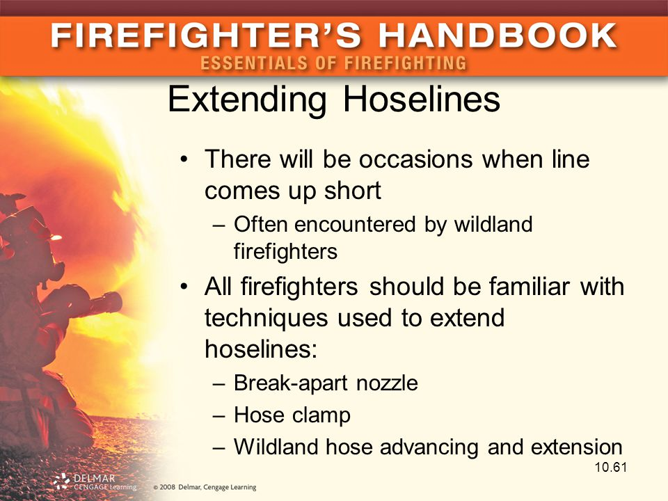 Extending Hoselines There will be occasions when line comes up short
