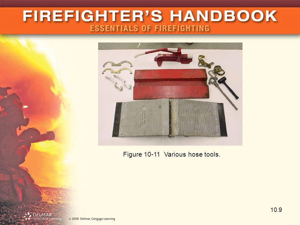 Figure 10-11 Various hose tools.