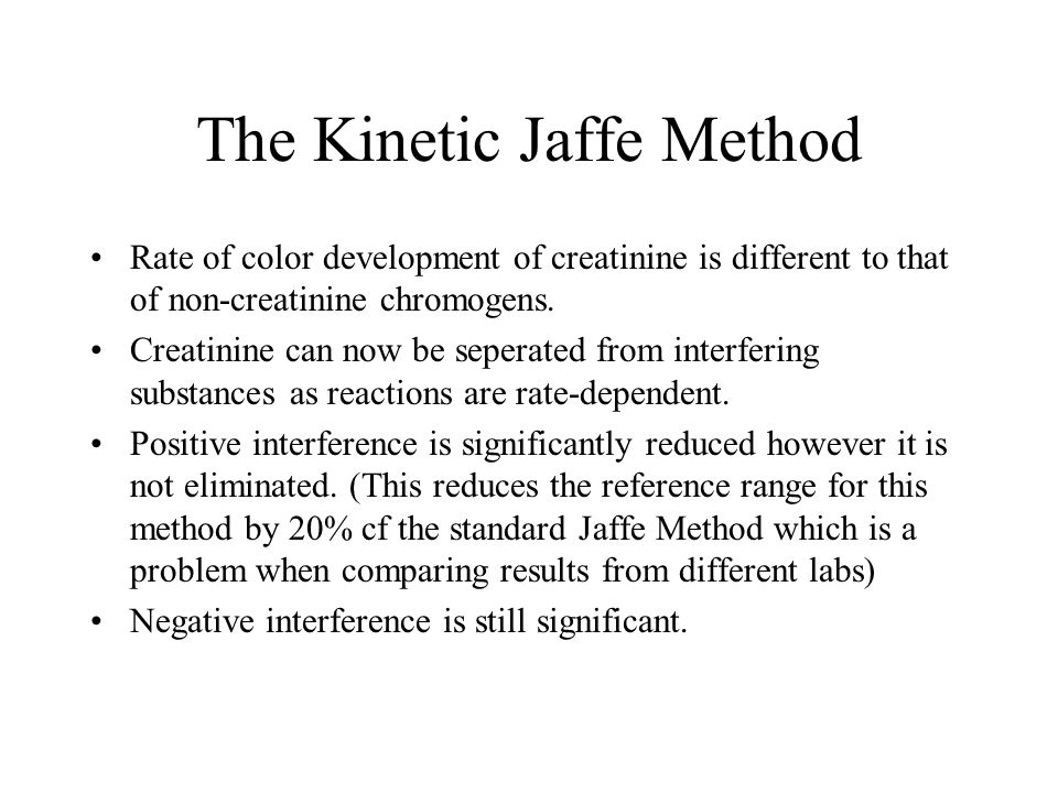 The Kinetic Jaffe Method
