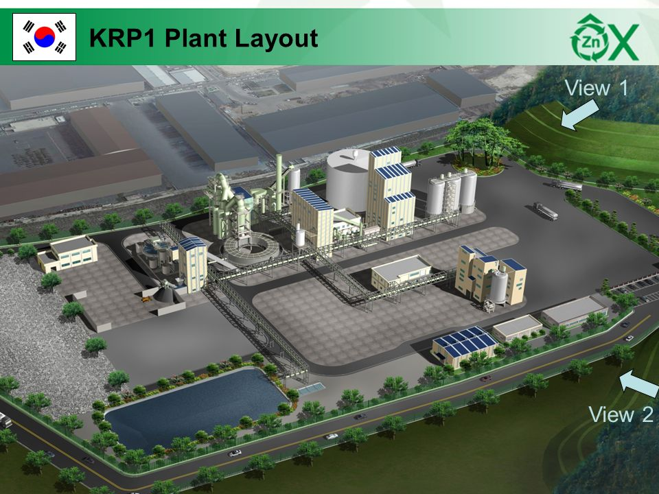 KRP1 Plant Layout View 1 View 2 13