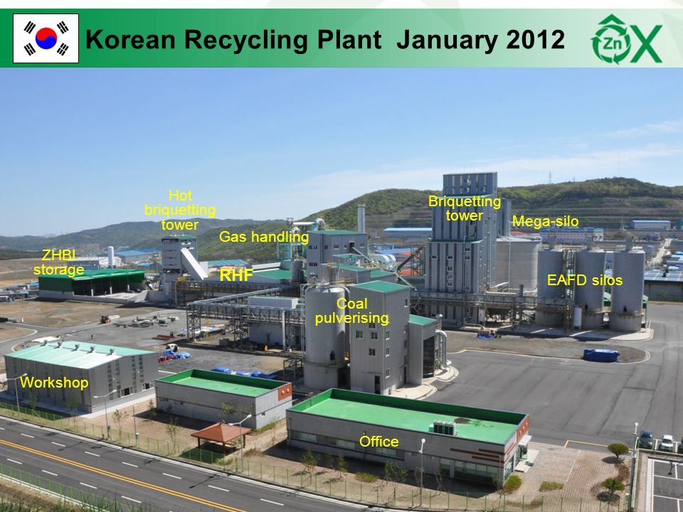 Korean Recycling Plant January 2012