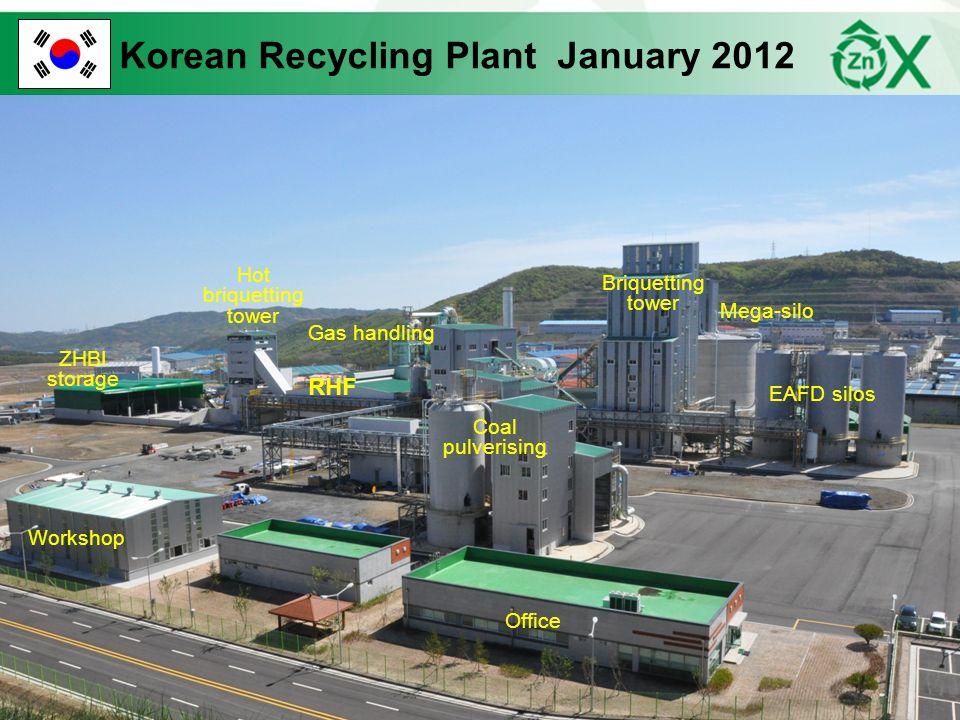 Korean Recycling Plant January 2012