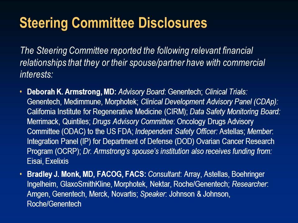 Steering Committee Disclosures