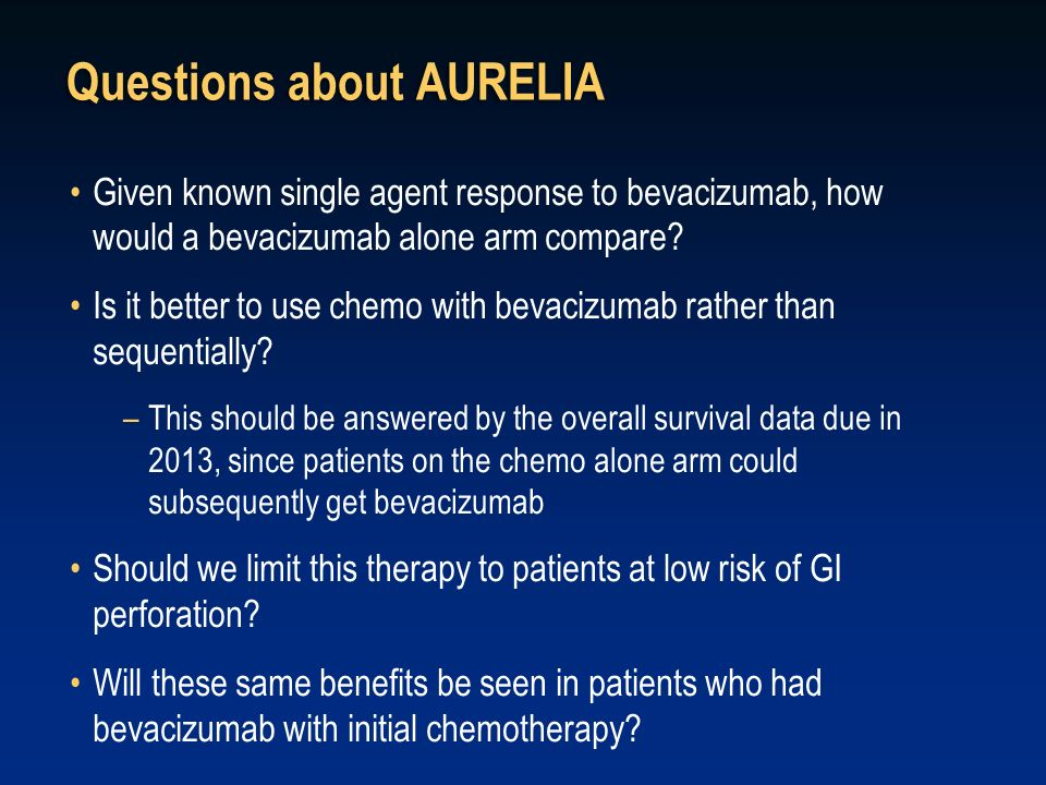 Questions about AURELIA
