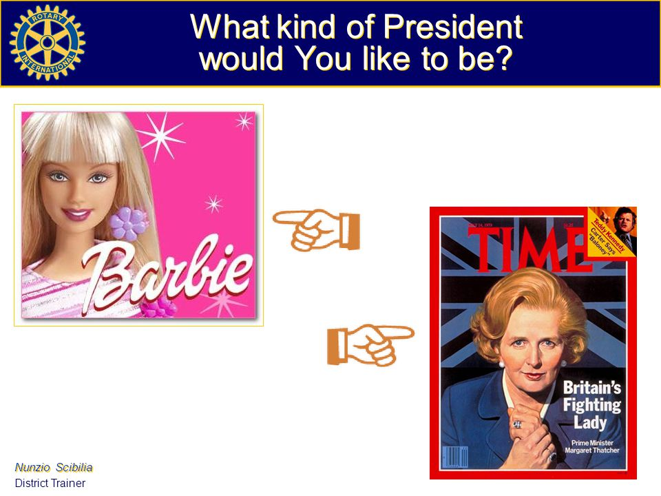 What kind of President would You like to be