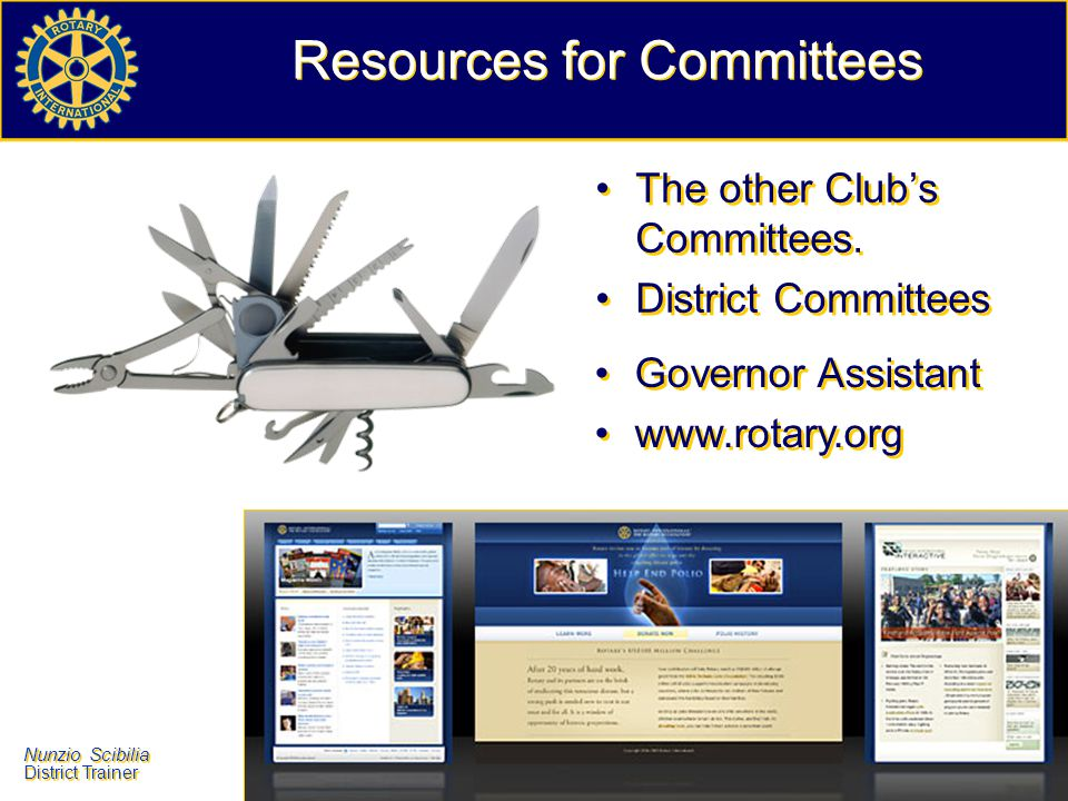 Resources for Committees