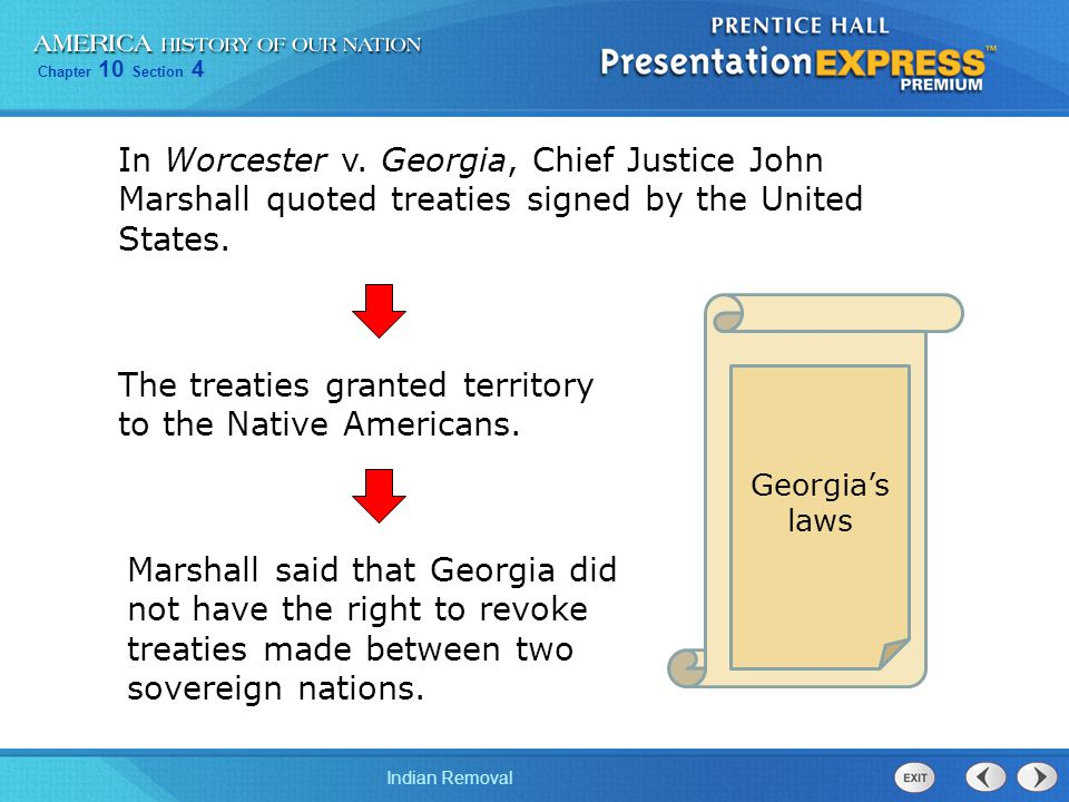 Treaties between the United States and the Native Americans