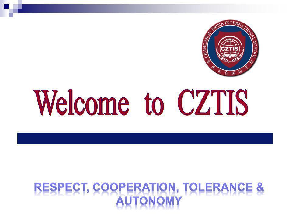 Respect, cooperation, tolerance & Autonomy