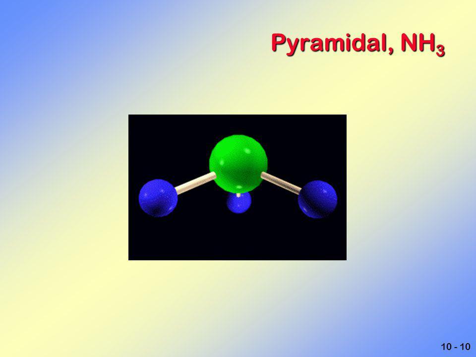 Pyramidal, NH3