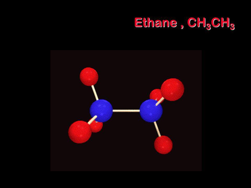 Ethane , CH3CH3