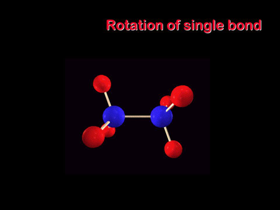 Rotation of single bond