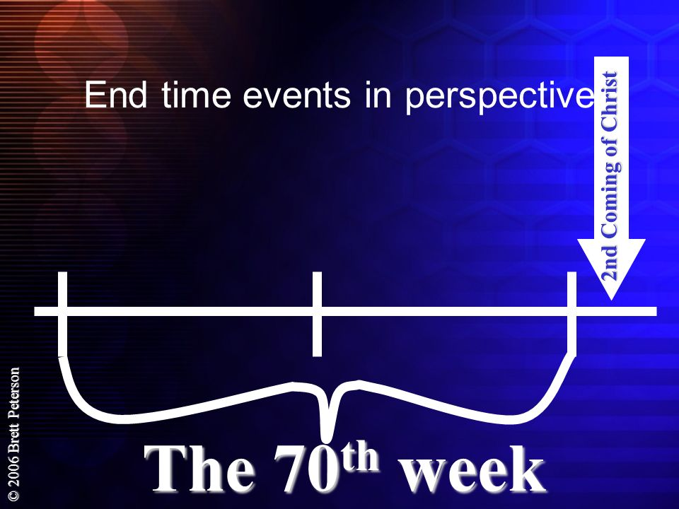 End time events in perspective