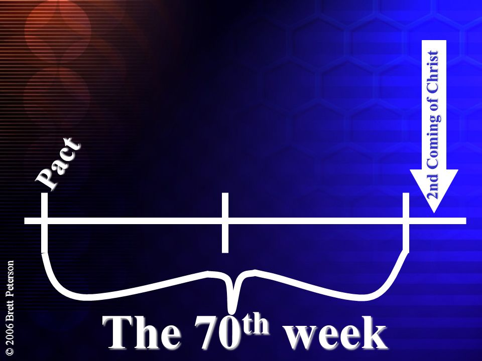 2nd Coming of Christ Pact The 70th week