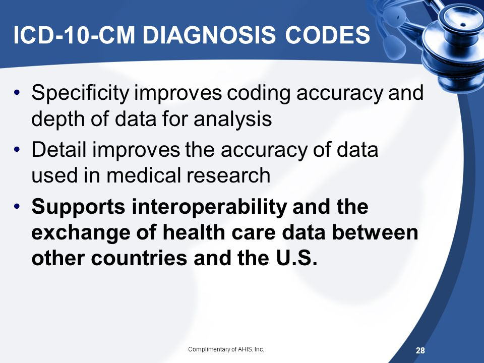 ICD-10-CM DIAGNOSIS CODES