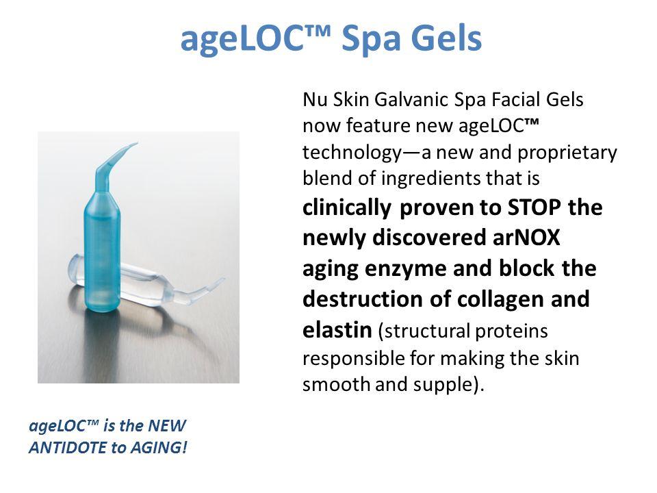 ageLOC™ Spa Gels