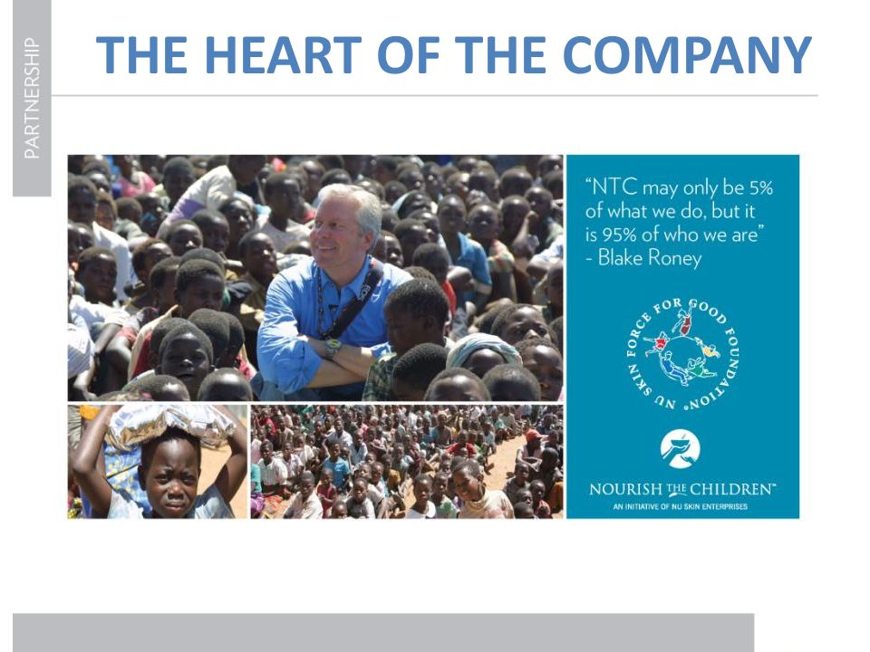 THE HEART OF THE COMPANY