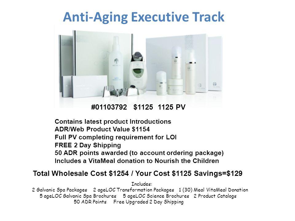 Anti-Aging Executive Track