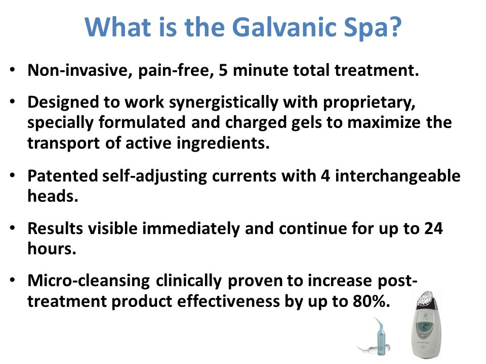 What is the Galvanic Spa