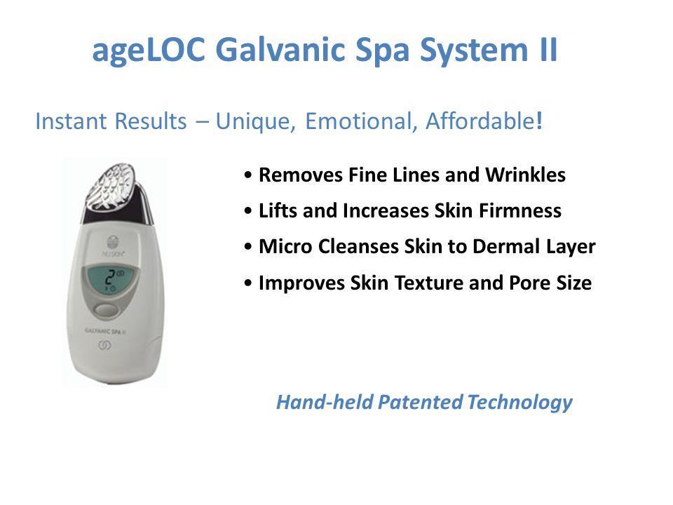 ageLOC Galvanic Spa System II