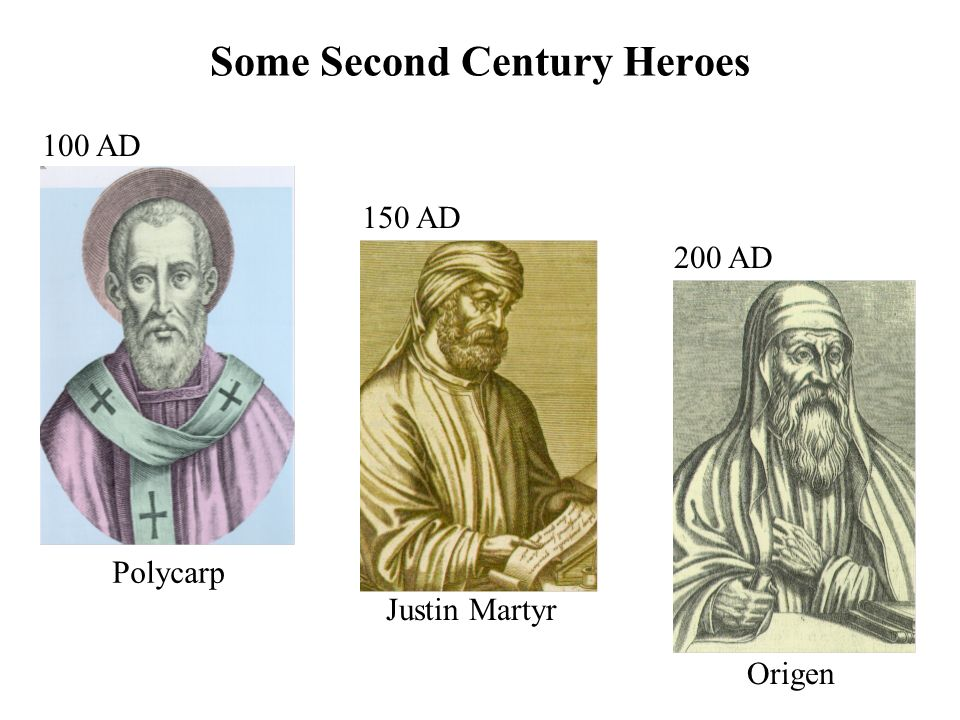 Some Second Century Heroes