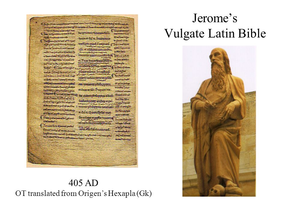 Jerome's Vulgate Latin Bible