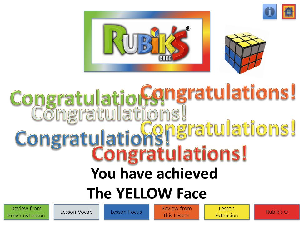 You have achieved The YELLOW Face