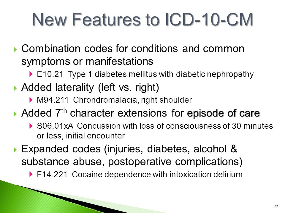 New Features to ICD-10-CM