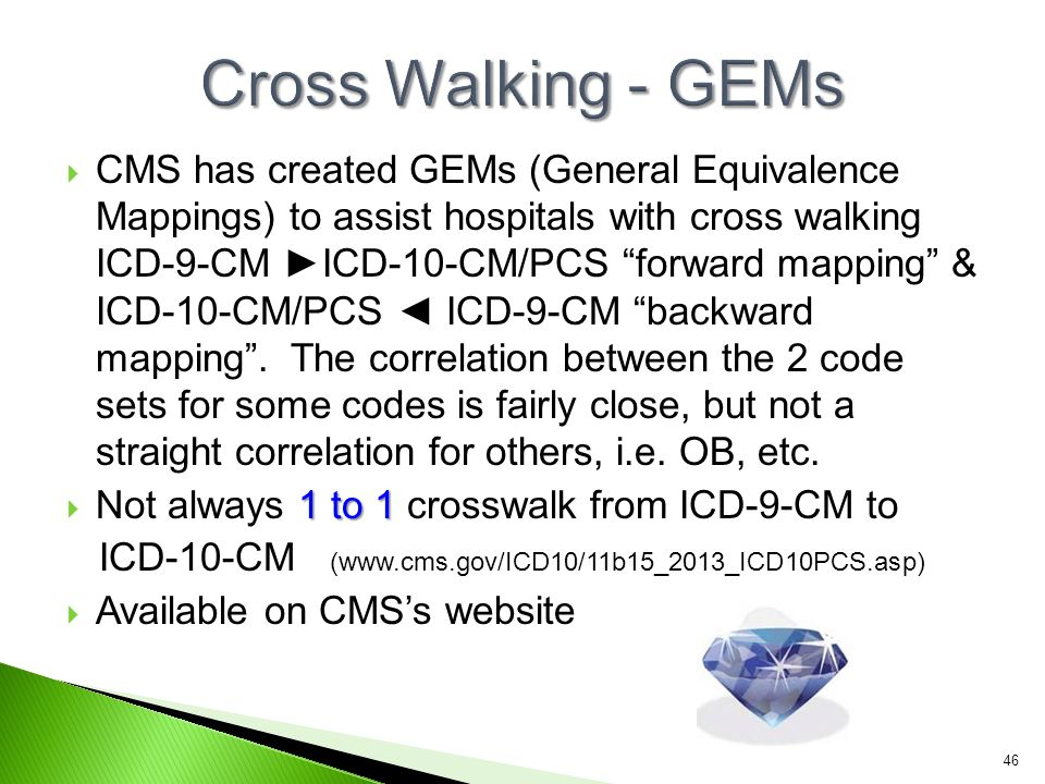 Cross Walking - GEMs