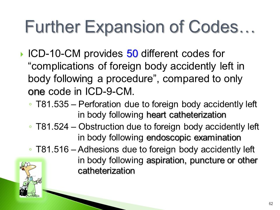 Further Expansion of Codes…