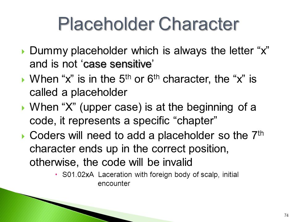 Placeholder Character