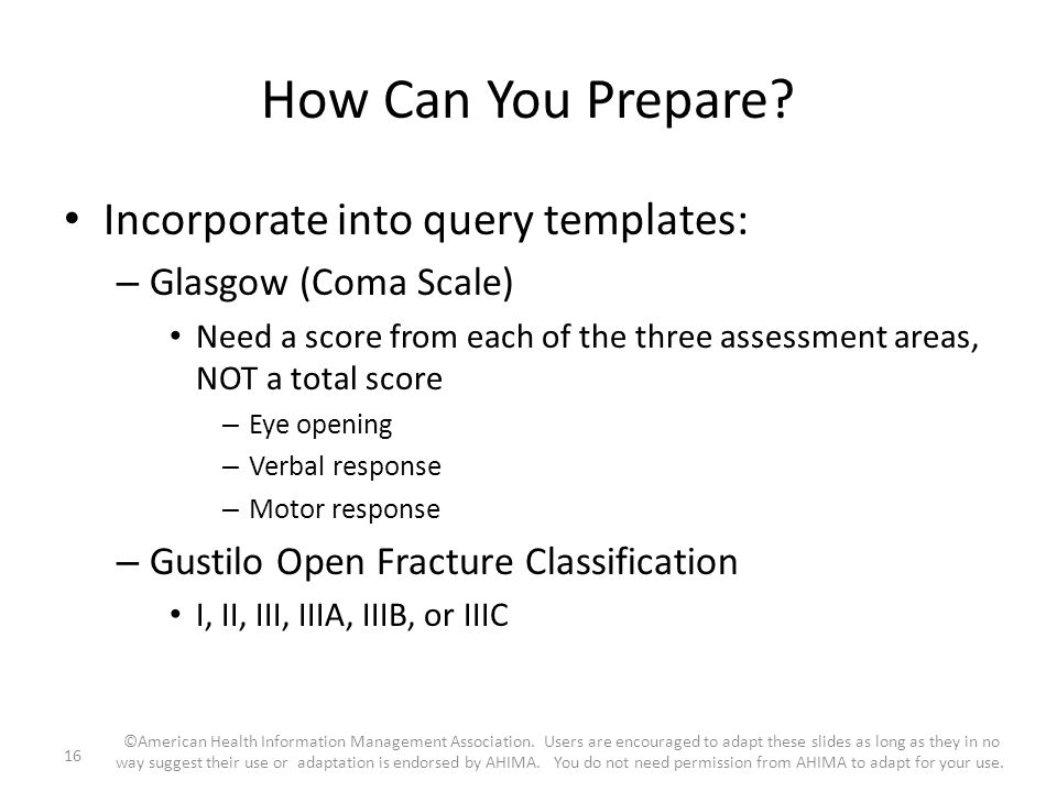 How Can You Prepare Incorporate into query templates: