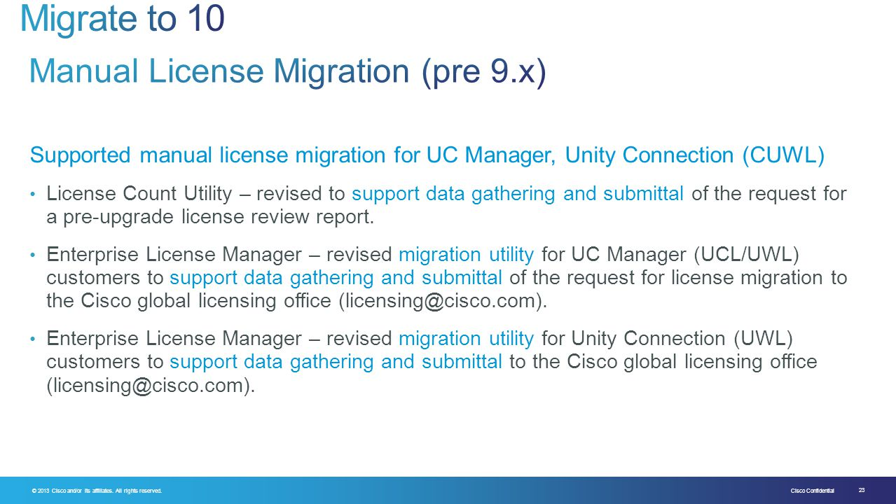 Manual License Migration (pre 9.x)