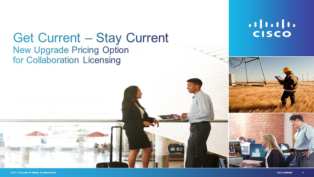 Get Current – Stay Current New Upgrade Pricing Option for Collaboration Licensing