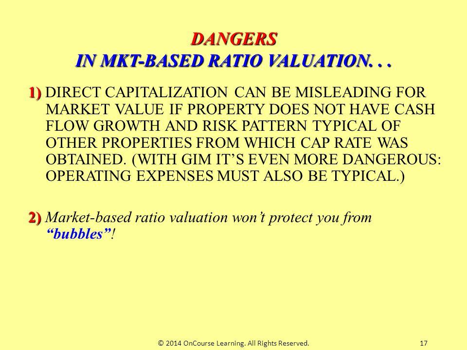DANGERS IN MKT-BASED RATIO VALUATION. . .
