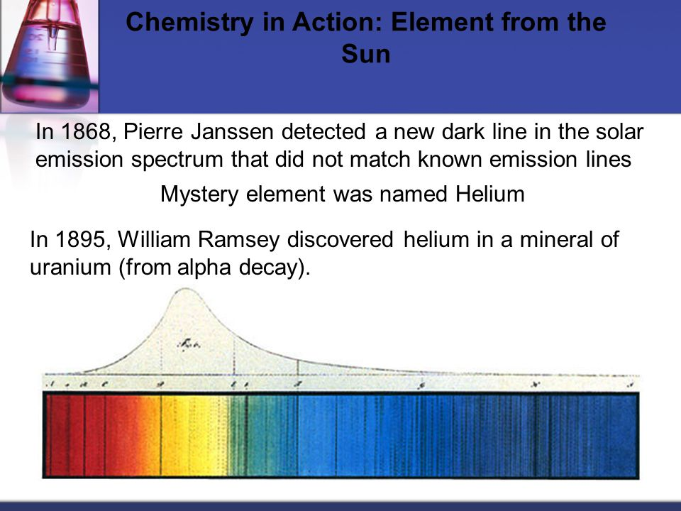 Chemistry in Action: Element from the Sun