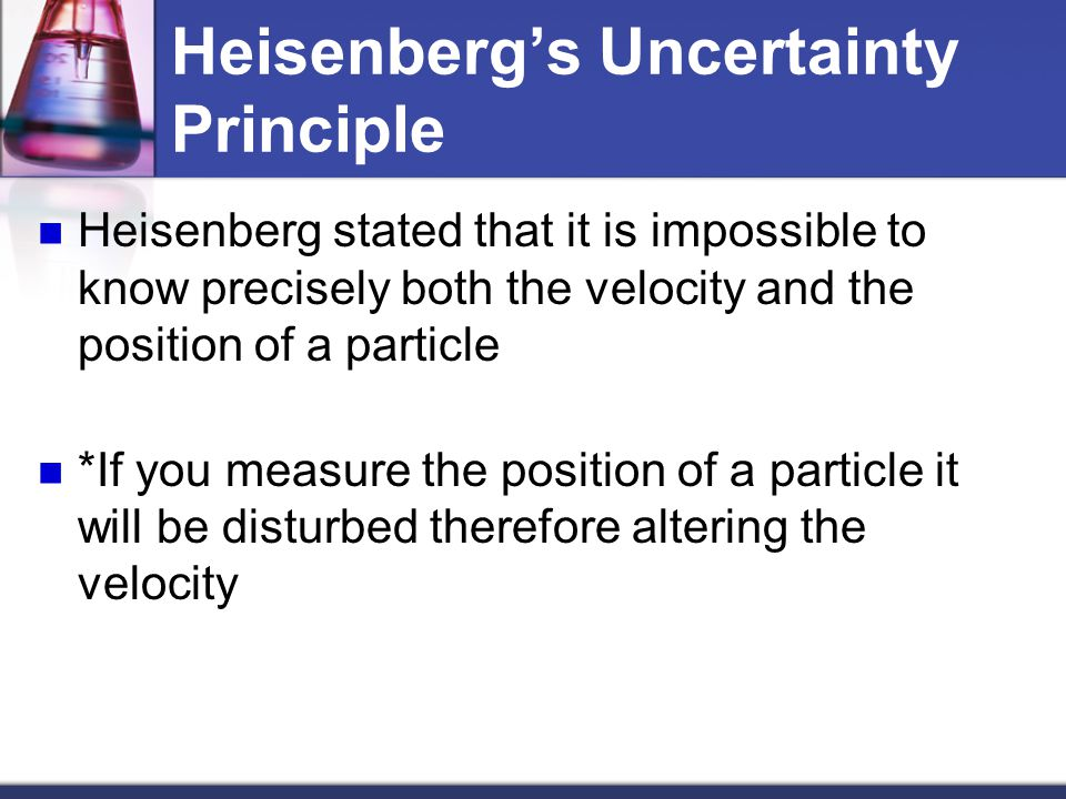 Heisenberg's Uncertainty Principle