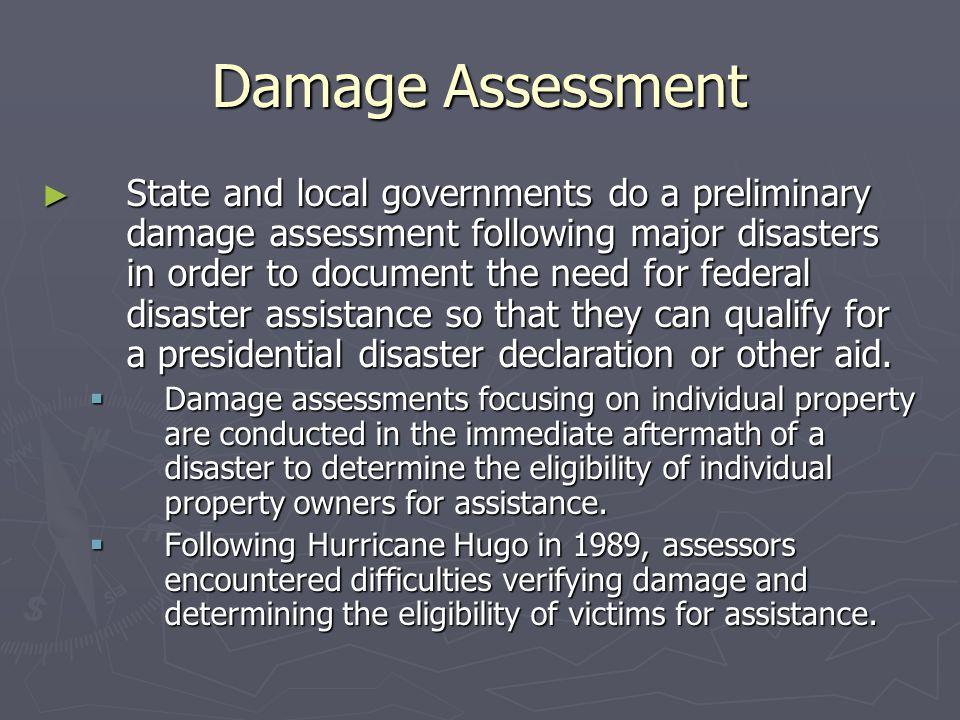 Damage Assessment